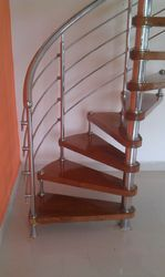 Wood Spiral Staircases