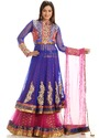 Designer Long Sharara