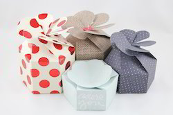 Paper Petal Boxes for Wedding Showers, Baby Favors,
