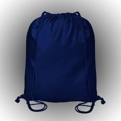 Royal Blue Color Cotton Bread Bag