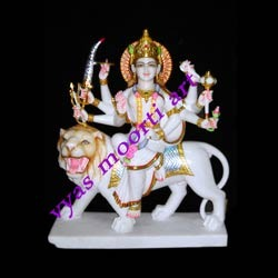Beautiful Maa Amba From Marble