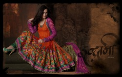 Readymade Anarkali Sut Beautiful Colors