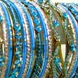 Designer Blue Bangles Sets