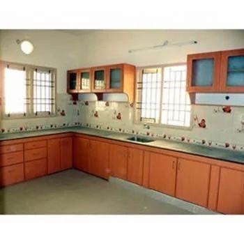 Wooden shelves for kitchen in chennai