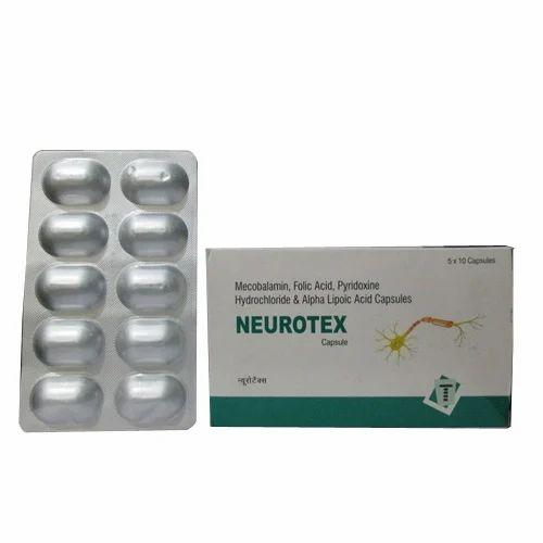 pregabalin mecobalamin alpha lipoic acid