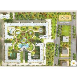 Site Plan in Sector 77 Noida