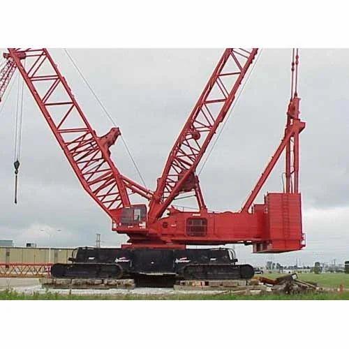 manitowoc lattice boom crawler crane exporter  mumbai