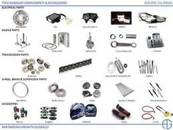 spare parts exporter of two wheeler in India