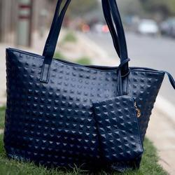 Ladies Dotted Tote Handbags