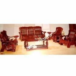 Wooden Sofa Set - Malaysian Wood
