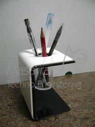 Acrylic C Bend Pen Holder