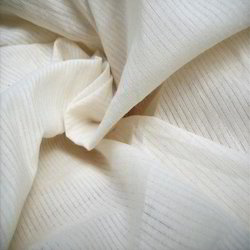 Organic Woven Grey Fabric