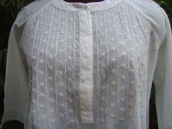 White Cotton Beach Wear(1)
