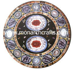 Marble Tables With Inlay