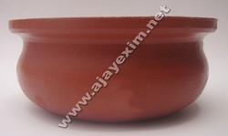 Terracotta Serving Pot