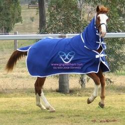 woolen combo rug r blue