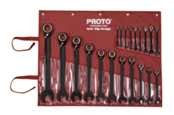 Reversible  Ratcheting Wrench