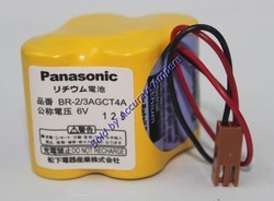 Panasonic Br2/3agct4a 6v Lithium Battery For Fanuc CNC