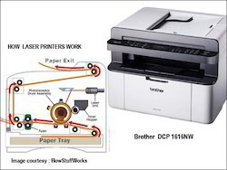 Brother DCP - 1616nw Laser Printer