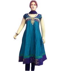 Khadi Silk Anarkali Suits