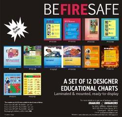 Be Fire Safe Display Posters