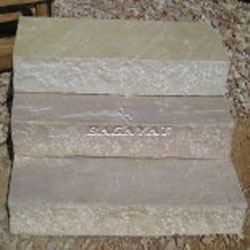 Mint Sandstone Block Steps