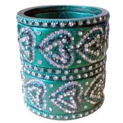 Lac Bangles with Mirror