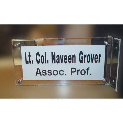 acrylic name plates wall mountable name plates manufacturer from pune