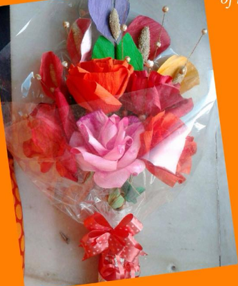 Paper flower making art craft workshop retailer from kolkata paper flower making mightylinksfo