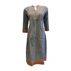 Cotton Print Ladies Kurti