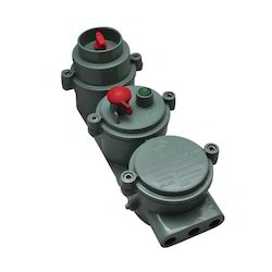 Flameproof Rotary Switch Push Button