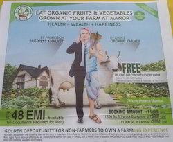 Organic Gardening Farmhouse