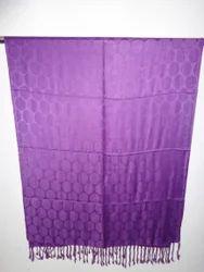 Purple Striped Stoles