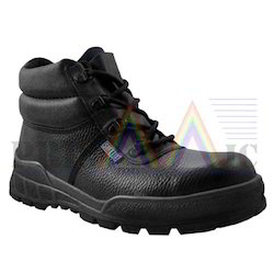 Ecotix High Ankle Leather Safety Shoes