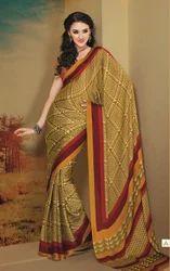 South Indian Art Printed Traditional Sarees