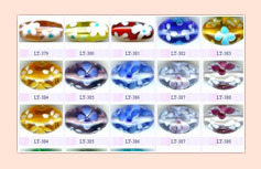 Hand Made Glass Beads CODE : FB-06
