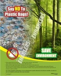 Poster on Ban of Plastic Bags