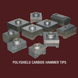 Polyshield Carbide Hammer Tips