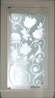 designer etched glass