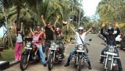 Nepal Package Tour on Royal Enfield Bullet Bikes