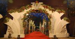 fiber wedding gate