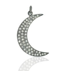 Half Moon Shaped Charm Pendant