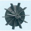 Plastic Fan Suitable For 56 Frame Size