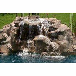 Poolside Waterfalls