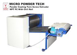 Twin Screw Extruder Chill Roll Unit with Flaker