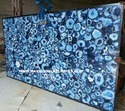 Gemstone Blue Agate Slab