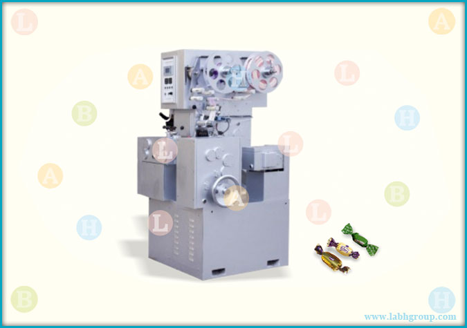 Automatic High Speed Twist Wrapping Equipment for Toffee Chewing Gum