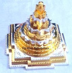 Silver & Gold Shree Yantra