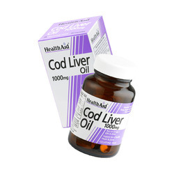 Cod Liver Oil 1000mg - 30 Capsules