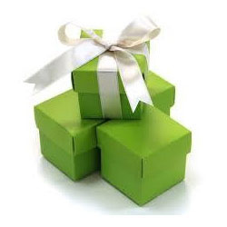 Green Wedding Box